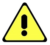 Yellow Warning Triangle